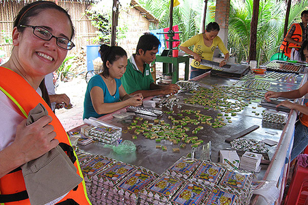 Coco-nut-candy-workshop-in-Mekong-Delta